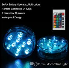 Submersible Led Light Centerpieces by Centerpiece Lighting Led Submersible Lights Battery Powered Led