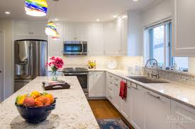 West Island Kitchen Windermere Cambria Quartz Island Countertops With Eased Edge In