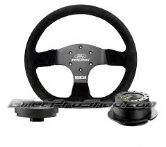 ford racing steering wheel w hub u0026 quick release billet pro shop