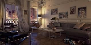 canape deco cuir design interieur salon cuir grand canapé angle gris déco murale