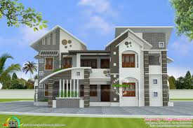 Home Design For 100 Sq Meter by 288 Square Meter Mix Roof House Kerala Home Design And Floor Plans