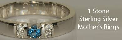 one mothers ring one sterling silver s rings