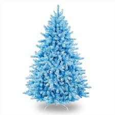white christmas tree with gold and blue decorations cheminee website