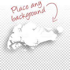 Blank Southeast Asia Map by Singapore Map For Design Blank Background Stock Vector Art