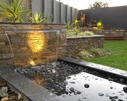 Waterfall Design Ideas Contemporary Landscape Design Pictures Remodel Decor And Ideas