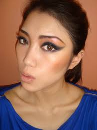 strong eye makeup cat eye makeup