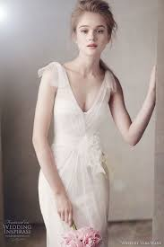 vera wang bridesmaid white by vera wang fall 2011 wedding dresses wedding inspirasi
