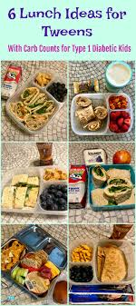 lunch for a diabetic 6 lunch ideas for tweens with carb counts for type 1 diabetic kids