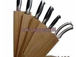 wall mounted knife rack kitchen knife storage laisumuam