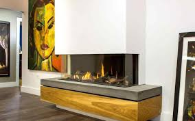 corner propane fireplaces with logs stovers