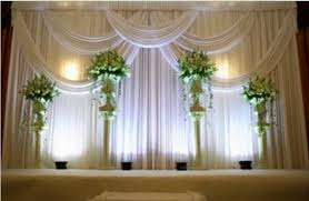 white design party decoration curtain event curtains anniversary
