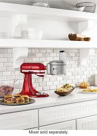 black friday food processor kitchenaid ksm2fpa food processor attachment kit gray ksm2fpa