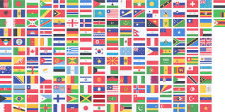 Flags Of Countries Clipart Countries Flags