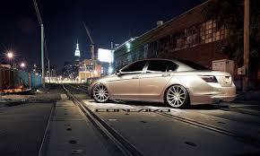 stanced honda honda accord sedan concavo cw 12 20x10 5 newyork slammed