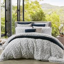 liana navy duvet cover set private collection