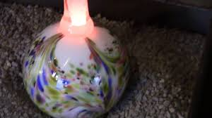 christmas ornament glass blowing old glass making machart