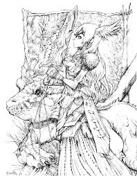 shining ideas fantasy coloring pages for adults anime coloring