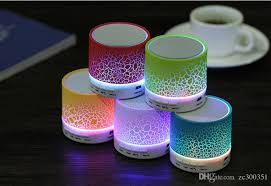 smart l with speaker portable bluetooth stereo speakers smart led light mini