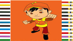 learn drawing coloring boboiboy galaxy ep 7 step by step fun for