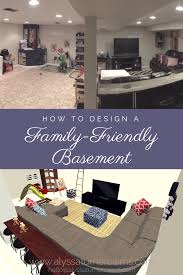 rustic farmhouse family basement before u0026 afters u2014 alyssa turner