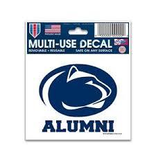 penn state alumni sticker penn state nittany lions alumni 3 x4 car decal static cling