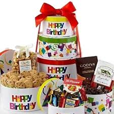 Gourmet Fruit Baskets Happy Birthday Tower Set Of 6 Empty Suppliesforgiftbaskets Com