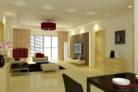 flush ceiling lights living room living room interior with chandelier and drop ceiling and flush