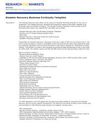 recovery plan template free business checklist disaster p8imnmg4 x