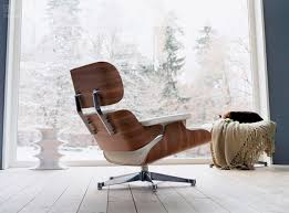 Lounge Chairs For Living Room Replica Eames Lounge Chair Ivory White
