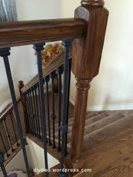 Replacing A Banister And Spindles Pin By Sharyen On Replacing Wood Balusters With Wrought Iron