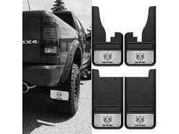 dodge ram mud flaps dsi automotive truck hardware 2009 2017 dodge ram logo gatorback