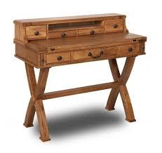 Uk Home Office Furniture by Chateau Solid Oak Writing Desk Oak Furniture Uk With Small Oak