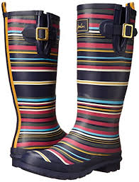 womens boots joules joules s welly print boot shoes shop