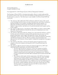 6 work statement examples buisness letter forms