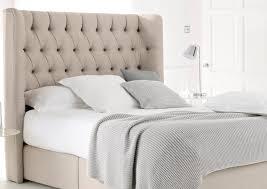 upholstered wingback coaster beds king frame furniture bed