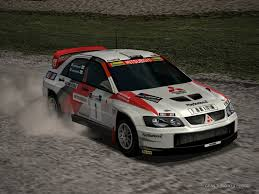 mitsubishi evo rally wallpaper mitsubishi lancer evolution super rally car 2003 by patemvik on