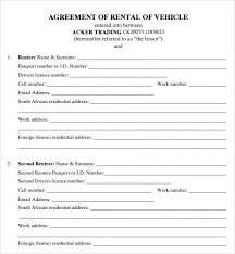 rental agreement templates u2013 word excel pdf u2013 get calendar templates
