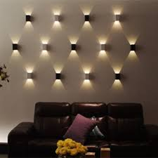 led wall sconces modern led wall light cubic body up down ray of