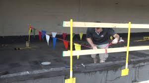 Temporary Handrail Systems Universal Temporary Gaurdrail System For Any Construction Site