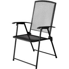 Black Metal Patio Chairs Folding Metal Patio Chairs Home Design Ideas And Pictures