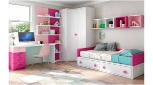 photo de chambre fille chambre enfant fille bicolore et pratique glicerio so nuit
