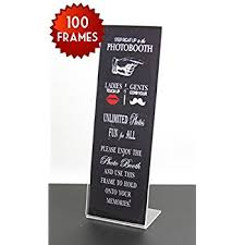 Photo Booth Frames Amazon Com Markeitng Holders Photo Booth Frames Slanted 2