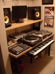 Studio Monitor Desk by Ikea Music Studio Desk Compact Hackers Furniture Recording Diy