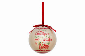 remembrance bauble cancer research uk shop