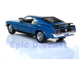 1970 Mustang Mach 1 Black 1970 Ford Mustang Mach 1 1 18 In Medium Blue Metallic Epic