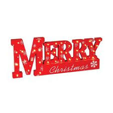 hh merry christmas lighted sign outdoor decorations