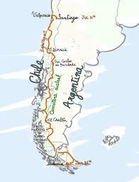 Patagonia Map The Cross Patagonia Uni Girls Kick Alps Monocyclette
