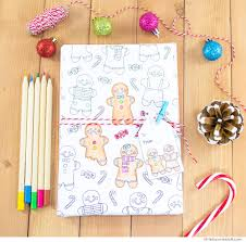 printable gingerbread man gift tags gingerbread man printable colouring gift wrap little luxuries loft
