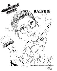 a christmas story move coloring page at coloring pages itgod me