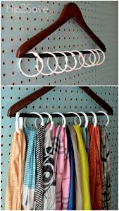 How To Make A Closet With Curtains 8 Clutter Problems Solved By Shower Rings Organize Scarves
